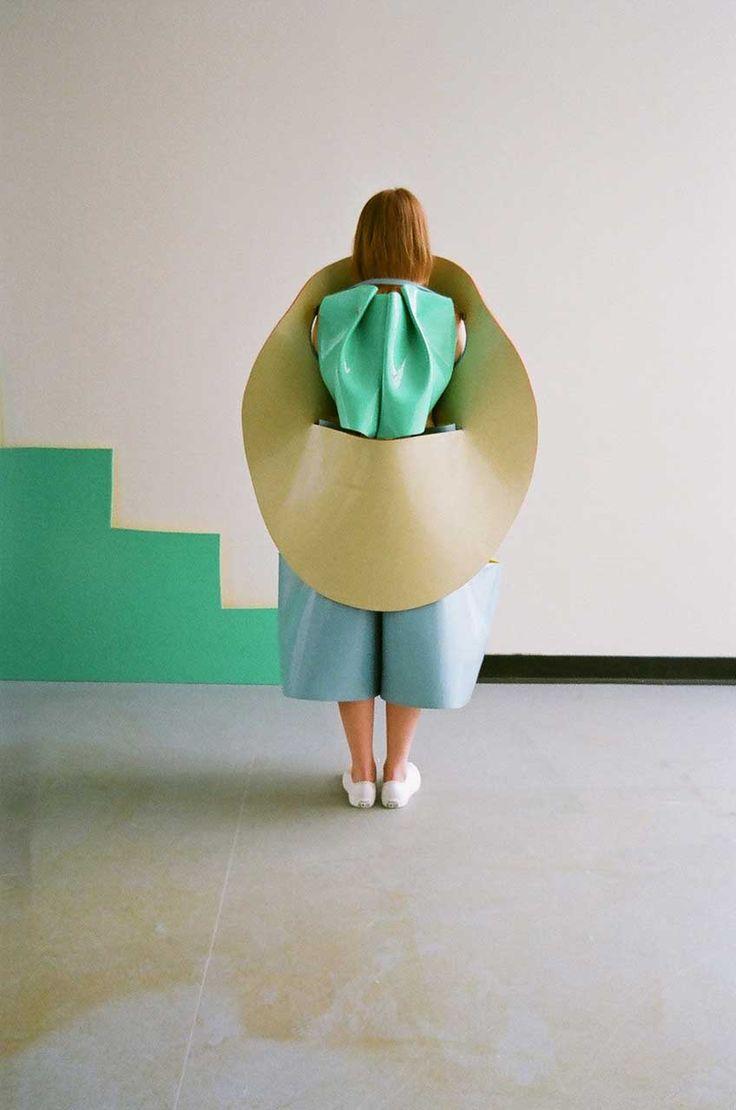 Pop and sculptural fashion