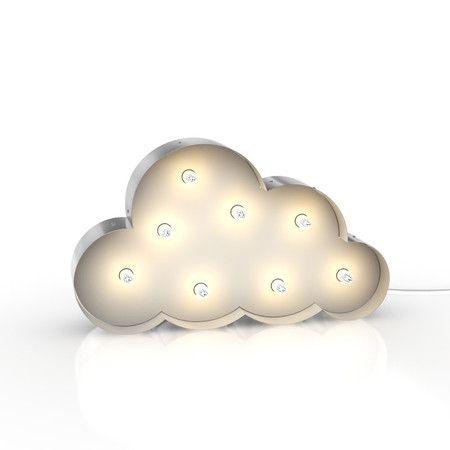 Luminária Nuvem Retrô Símbolo 48cm