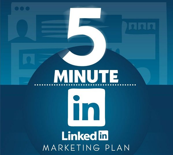 5 Minute Linkedin Management Plan for Users of All Levels [Infographic] -