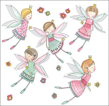 Pretty Little Fairies.  This is such a sweet card for little girls.  The fairies wings pop out, and are all flittery glittery.  £1.75.