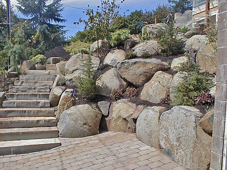 I like the rocks as part of the patio. I wonder if we have enough?