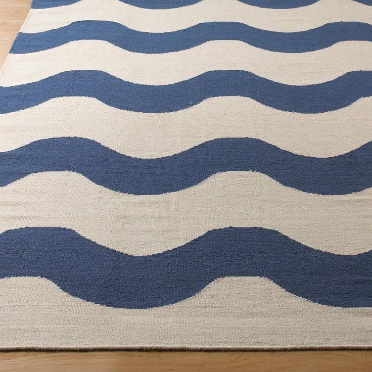 harmonic wave dhurrie rug