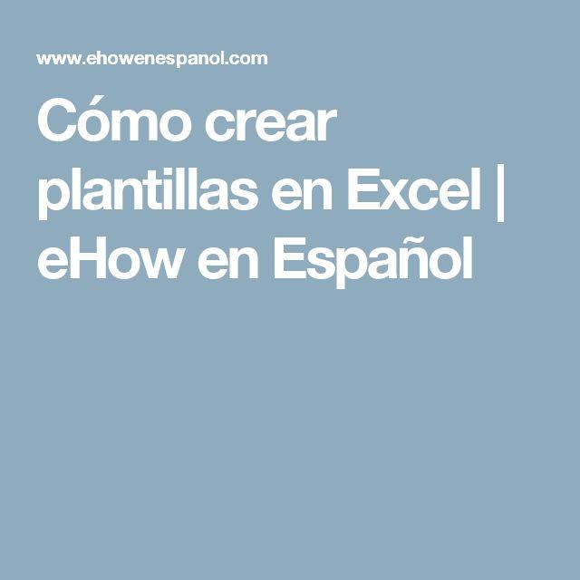 Mejores 85 imágenes de Excel en Pinterest   Ciencias de la ...
