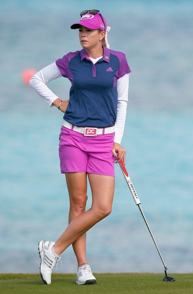 Paula Creamer Photos: Pure Silk Bahamas LPGA Classic: Round 1