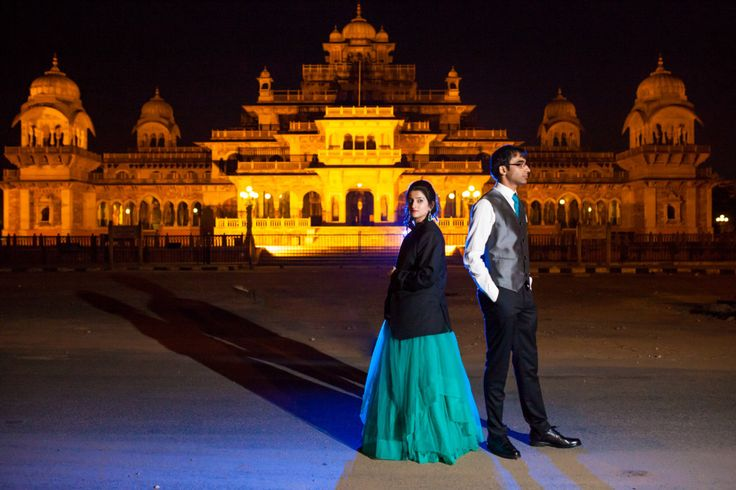 Vikram & Mahima - Beautiful Pre-wedding Couple shoot in Jaipur - Scarlet Weddings