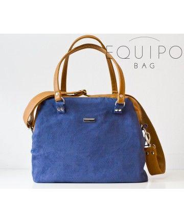 Camera Bag Blue&Camel