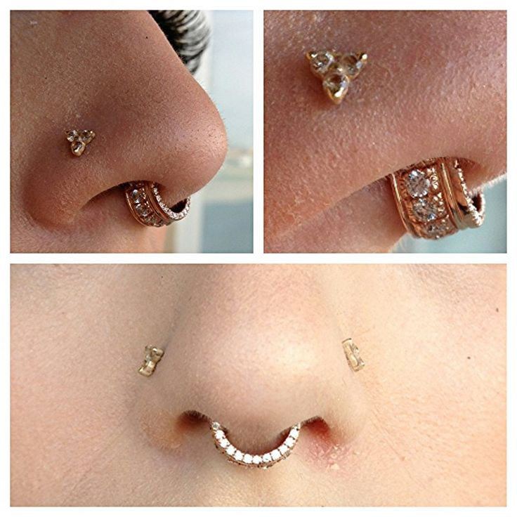 Rose Gold Septum Ring Septum jewelry from bvla '