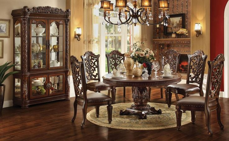 Hailey 7 Piece Dining Room Furniture Set