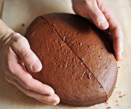 How to Make a Football Shaped Cake | eHow