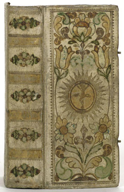 venusmilk:  Band van perkament en beschilderdbinder: Engelmann, Christian?1715-1735 Duitsland
