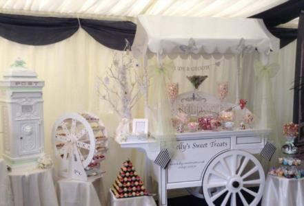 Kelly's sweet treats is a Wedding Supplier of Catering, Venue Decorations, Entertainment, Favours & Gifts. Are you planning your Big Day and looking for wedding items, products or services? Why not head over to MyWeddingContacts.co.uk and take a look at Kelly's sweet treats's profile page to see what they have to offer. Helping make your wedding day into a truly Amazing Day. Oh, and good luck and best wishes with your Wedding.