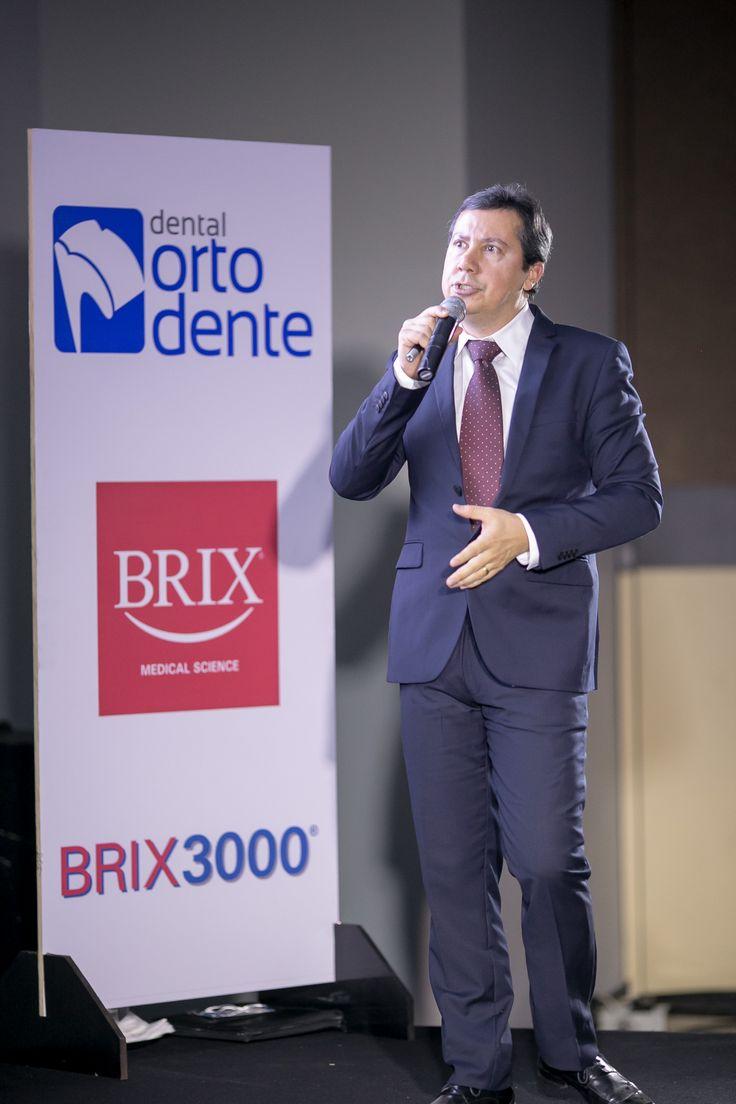 Alexandre Medeiros, dentista e palestrante