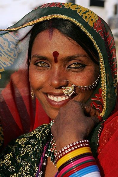 Indian Woman In Black Saree: India Women With Nose Rings - Google Search