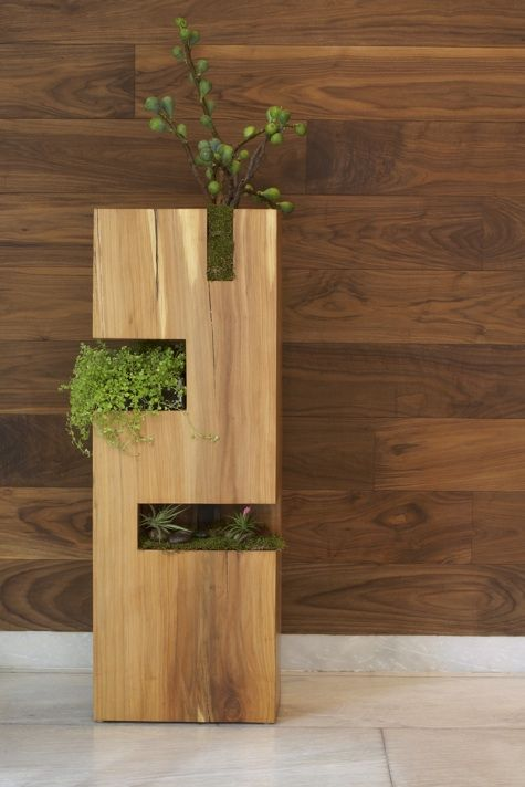 Tri-tiered urban garden by REbecca Cole at The James Hotel in NYC