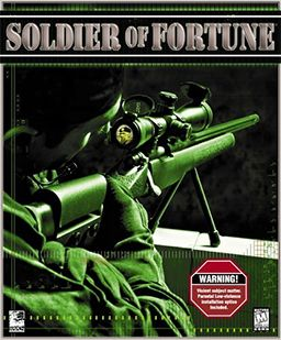 Soldier of fortune - it got complaints about the violent contents