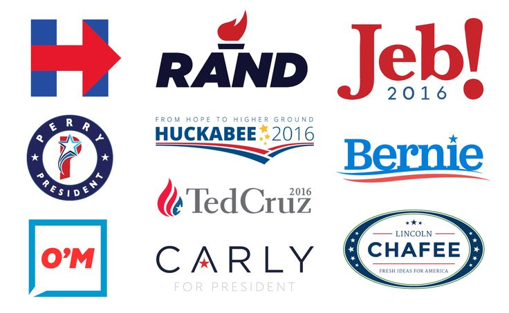 Which 2016 presidential candidate has the worst logo? - The Washington Post