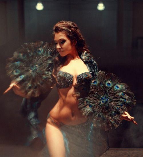 Russian belly dancer