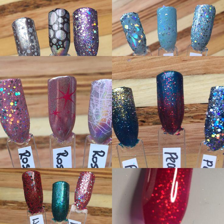 CND Shellac nail art by True Colour by Amanda Jones
