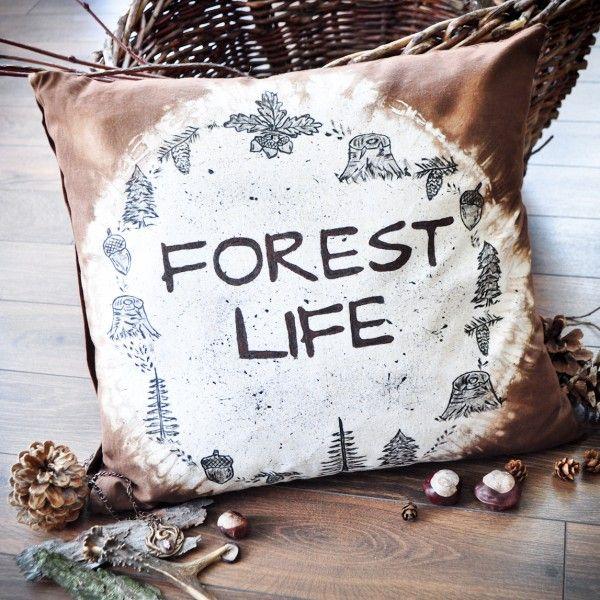 Poducha dekoracyna Forest Life   Make My Wonderland