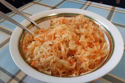 Uroma Kristas oberschlesisches Sauerkraut (Rezept mit Bild)   Chefkoch.de