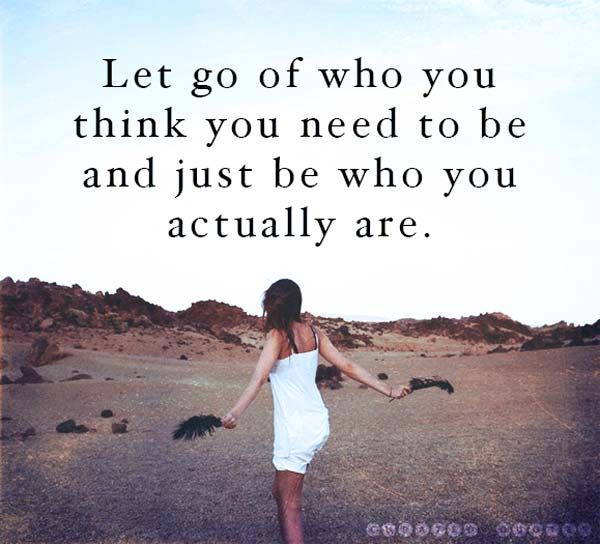 We live in a world where we are constantly told who we should be & it's hard to let that go but life is amazing when you allow yourself to just be your authentic self! <3