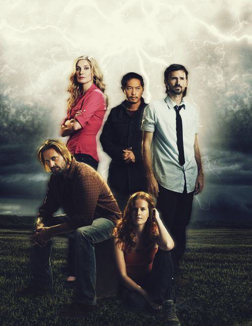 The ones that were stuck on the Island when it moved: Sawyer, Juliet, Miles, Daniel and Charlotte.