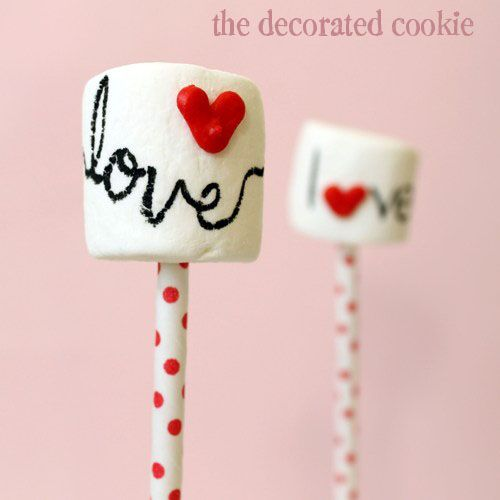DIY Heart Sprinkles and Love Marshmallow Pops