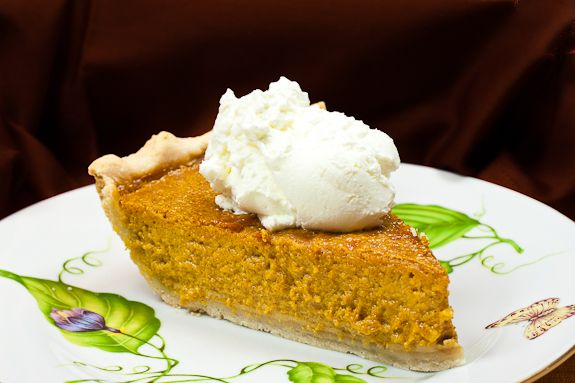 Suzanne's Old Fashioned Pumpkin Pie with Bourbon Whipped Cream ...
