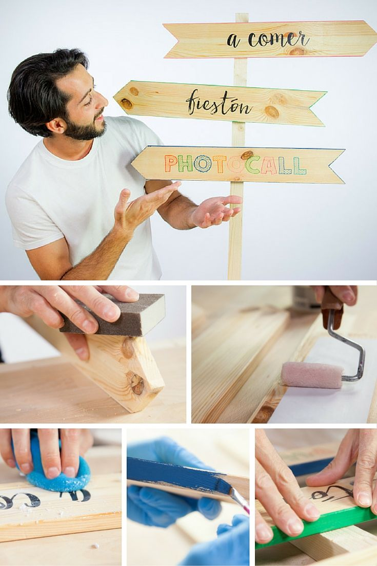 Carteles de madera para bodas ➜ ¡Que nadie se pierda! Con estos carteles de…