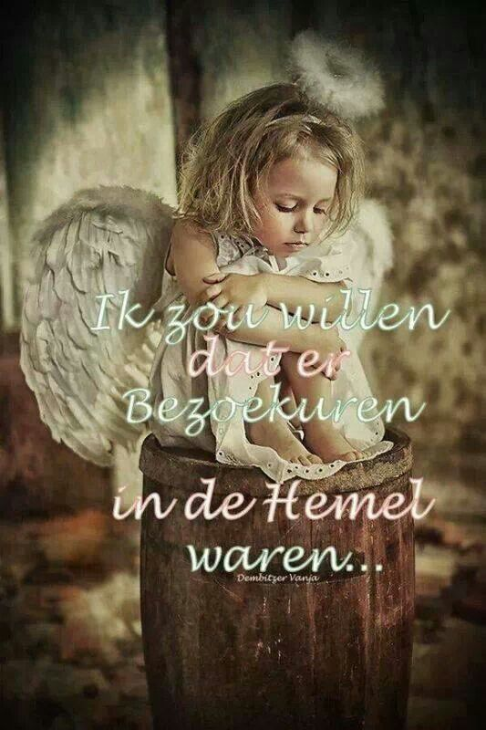 Jij bent mijn engel in de hemel....