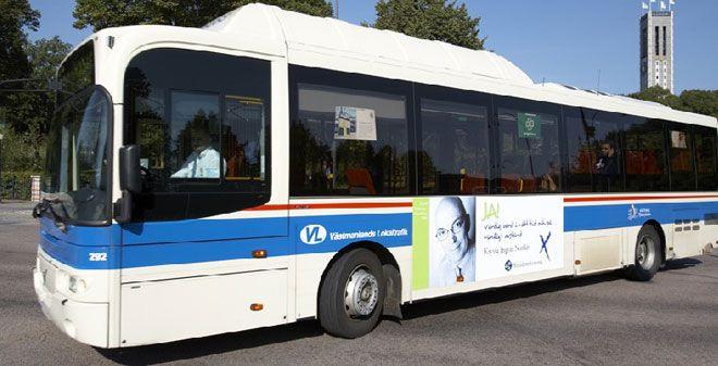 Linje 500 bussar mellan Avesta/Krylbo, Norberg, Fagersta, Skinnskatteberg, Kolsva och Köping. På bussarna läggs det ut pocketböcker i korgar för ungdomar. Alla som reser kan läsa och låna hem pocketböckerna.