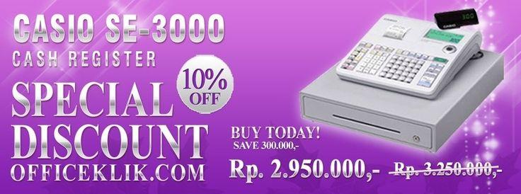 promo casio SE-300S on www.officeklik.com