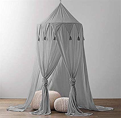 yikanwen baby baldachin betthimmel kinder babys bett. Black Bedroom Furniture Sets. Home Design Ideas