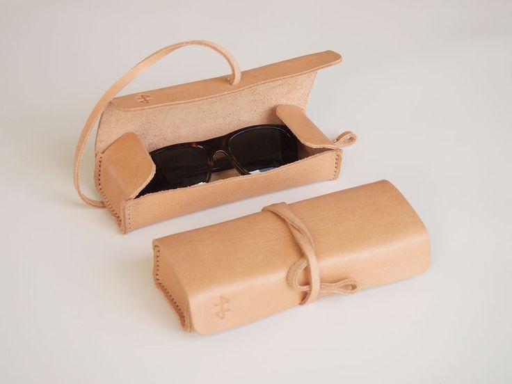 Leather Pencil Case. $59.00, via Etsy.