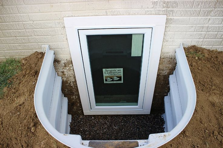 Best 25 egress window ideas on pinterest window well - Basement bedroom egress window requirements ...