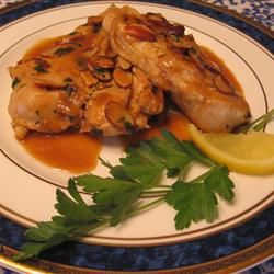 Almond Lemon Chicken Allrecipes.comAlmond Chicken, Lemon Chicken Recipe, Chicken Food And Drinks, Brown Rice, Chicken Recipes, Chicken Allrecipes Com, Almond Lemon, Chicken Breast, Cooking White