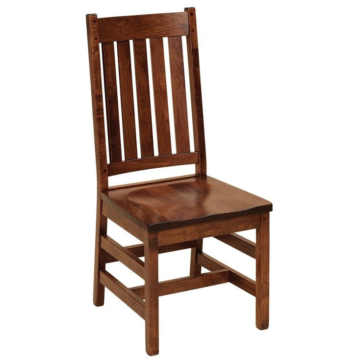 The Williamsburg dining chair is made of American hardwoods. Many dining room chair styles with wood or upholstered seats. Our products are made in the USA.