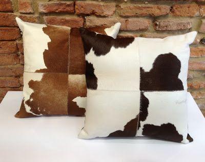 coussins peau de vache d coration fourrure pinterest. Black Bedroom Furniture Sets. Home Design Ideas