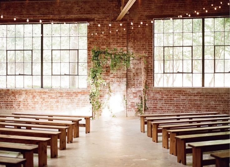 This historic venue is owned by a floral design genius and a perfect blank canvas for events. http://www.venuereport.com/blog/garden-party-in-a-historic-warehouse-space/