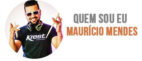 Mega Baterista de Forró - Academia do Baterista  curso on-line de baterista profissional de forró com o ex-calcinha preta Maurício Mendes - com certifico no final do curso
