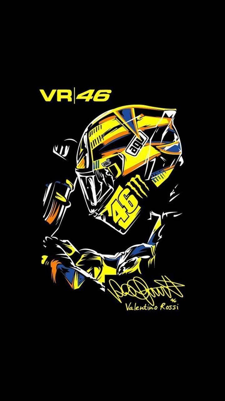 Spring Iphone Wallpaper In 2020 Vr46 Valentino Rossi Valentino Rossi Valentino Rossi Helmet