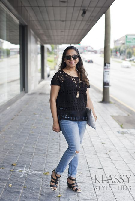 katies lace front top outfit #katiesfashion