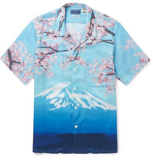 Blue Blue Japan  Chemise hawaii