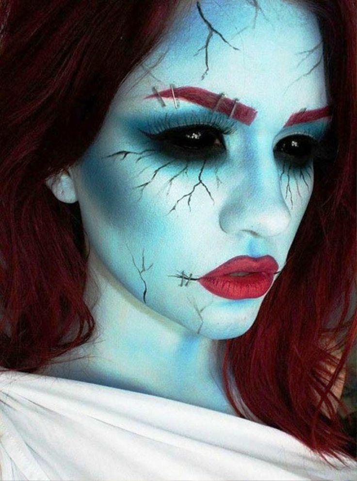 Best 20+ Scary halloween makeup ideas on Pinterest ...