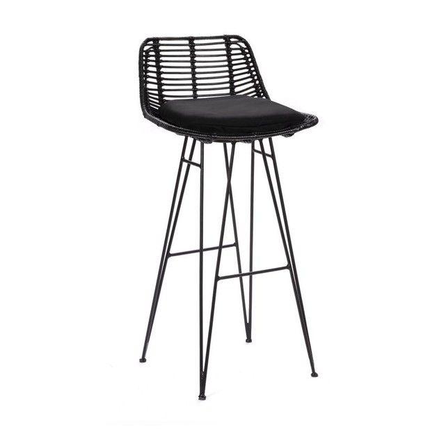Capurgana Chaise De Bar Design En Rotin 75cm Taille Taille Unique Chaise De Bar Design Chaise Bar Et Tabouret De Bar Bois
