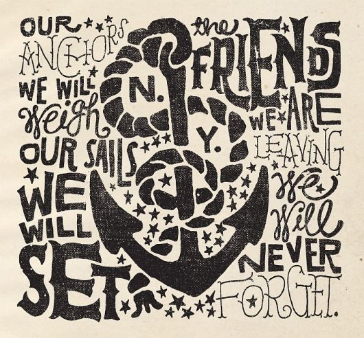 sea typography