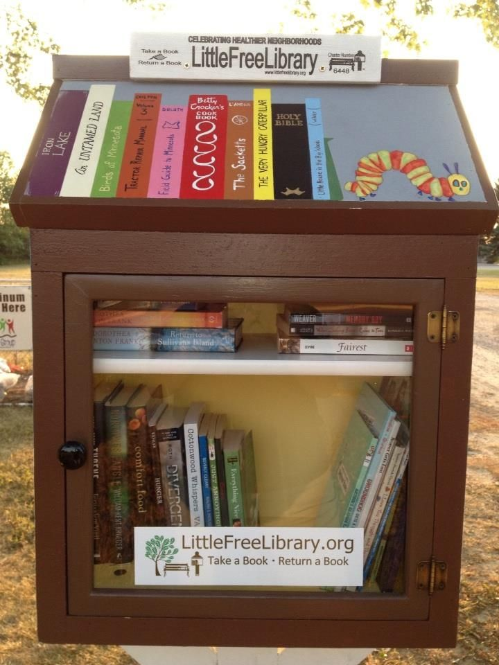Pam Schoon. Burtrum, MN. The Friends of the Upsala Public Library in Upsala, MN, were pleased to gift the Little Free Library they had made to the community of Upsala, MN, on Thursday, September 5, 2013. Through the efforts of many people, a new LFL is now open for business.