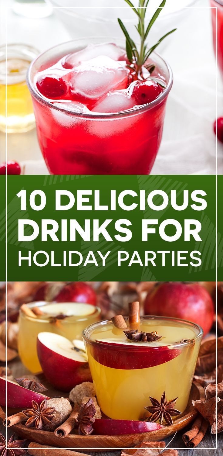 Whether you're looking for a cozy non-alcoholic drink to sip with family by the fire or a bubbly beverage for your big New Years Eve party, we've got something on our list for you.   Keep reading to see all 10 of the holiday drinks we love, from our users at Key Ingredient and from bloggers we love!
