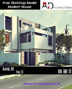 High Quality Architect Dose: Free Sketchup 3d Models   Family House   Vray U0026 Vispot