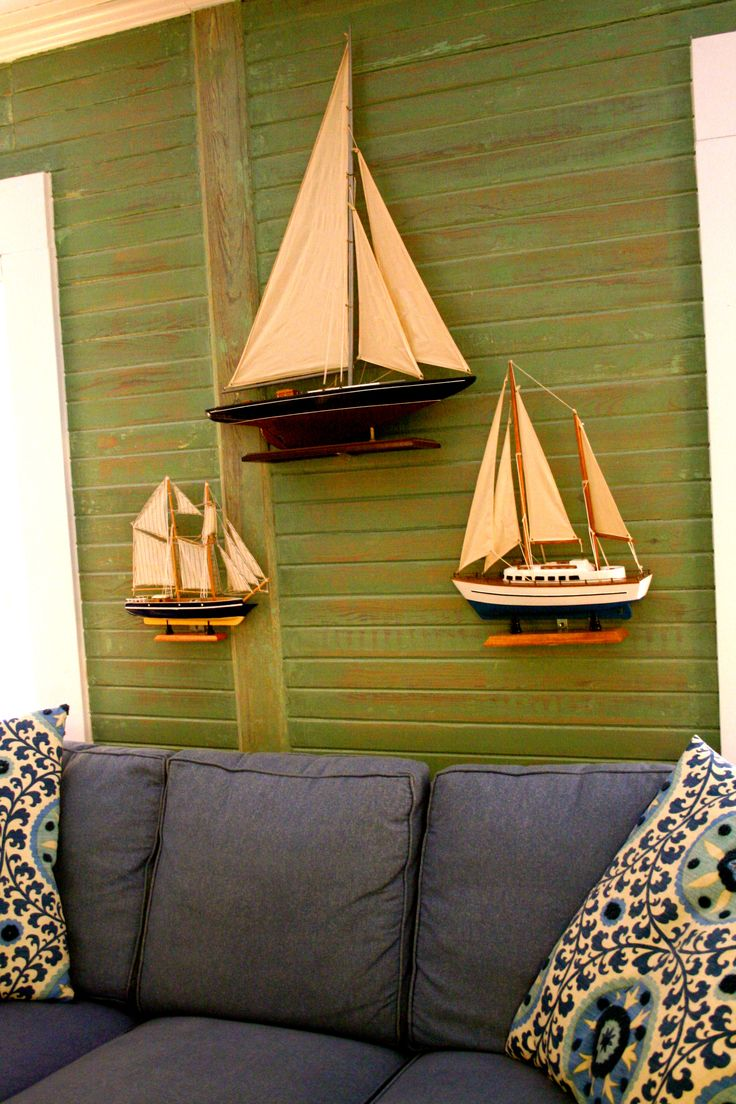 Finest Colorful Boat Wall Decor Picture Collection - The Wall Art  JC42